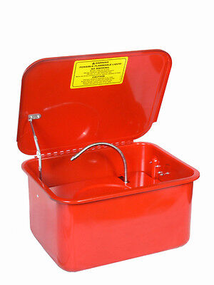 3.5 Gallon Portable Washer Electric Solvent Pump Auto Garage Cleaning