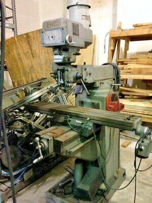Enco Vertical Milling Machine 10x54 I4495-118