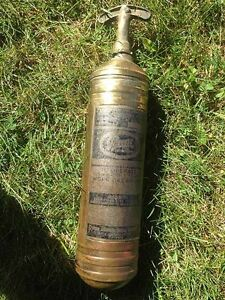 Pyrene Brass Fire  Extinguisher