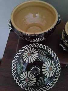 Vintage Soufflenheim French Country Pottery Soup Tureen & Bowls Kingston Kingston Area image 2