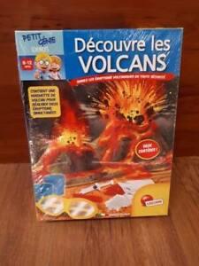 Petit kit d'expérience de volcans 8 à 12 ans