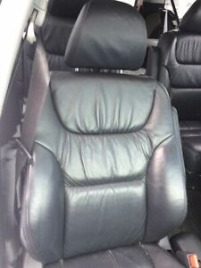 2005 HONDA ODYSSEY BLACK PWR HEATED LEATHER SEATS - EXCELLENT!