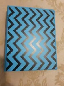 Small 3 Ring Blue Binder