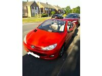Peugeot 206 convertible 2005 electric roof 1.6 Litre excellent runner £795 bargain