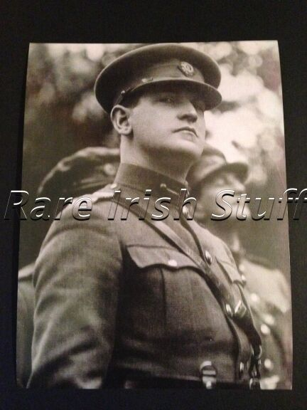 Michael Collins In Free State Military Uniform - 1922 Irish Leader Photo Picture