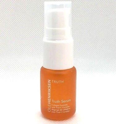 - OLE HENRIKSEN Truth Serum Collagen Boosted True-C Complex .25 oz / 7 mL Travel