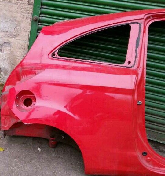 Mk Ford Ka Osr Drivers Side Rear Nsr Passengers Side Rear Quarter
