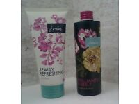 Joules Brilliantly Bubbly and Joules Really Refreshing Body Wash