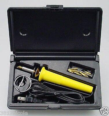 Wood Burning Tool Engraver Set Pen Kit Extra Tips Woodburner HOBBY Professional