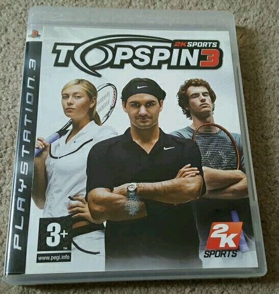 Top Spin 3 PS3 Tennis game