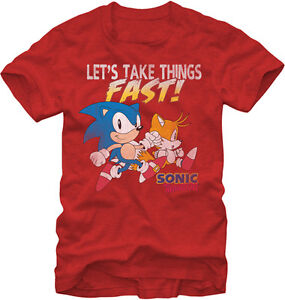 Sonic The Hedgehog T-shirts