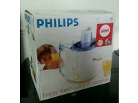 Phillips Juicer New in box