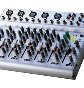 Eurorack MXB1002, 10 Channel Mixer Console, By Behringer