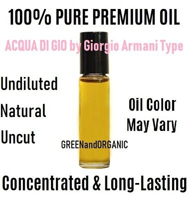 ACQUA DI GIO ABSOLU by Giorgio Armani Type Men Body Oil 10ml Perfume Fragrance