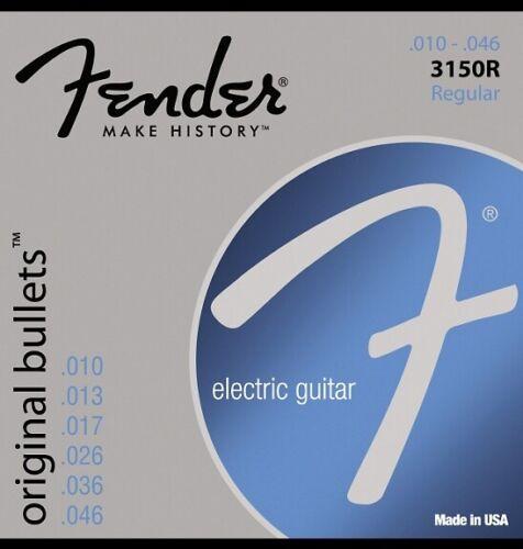 Fender 3150R Original Bullets Pure Nickel Wound Electric Gui