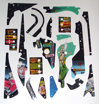 New Creature From The Black Lagoon Pinball Machine Playfield Plastics