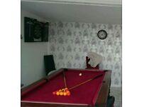 Pub slate pool table