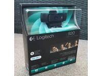 Logitech c920 HD Pro Webcam (Skype compatible)