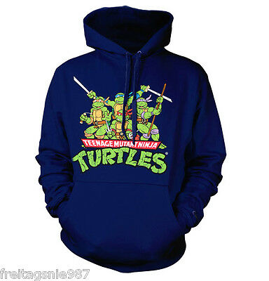 TMNT TEENAGE MUTANT NINJA TURTLES  hooded sweat-shirt - Ninja Turtle Sweatshirt