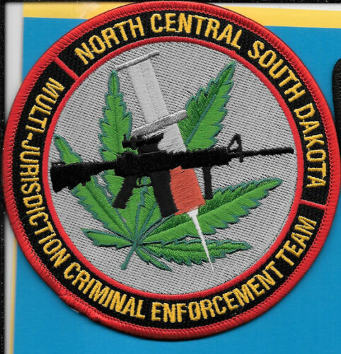NORTH CENTRAL SOUTH DAKOTA SD MULTI JURISDICTION CRIMINAL ENFORCEMENT DRUG NARCO