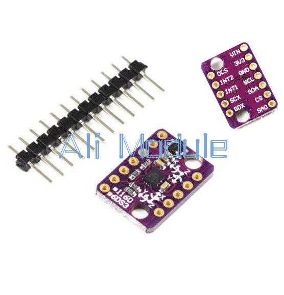 6-axis Rate Gyro BMI160 6DOF Gravity Accelerometer Sensor Module IIC SPI AM