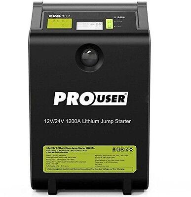 Pro-User LI 1200A Lithium Ionen Starthilfe 1200 Ampere für 12V und 24V 20142