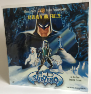 BATMAN Animated Series SubZero LD Laser Disc LaserDisc not DVD