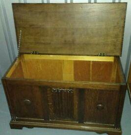Vintage Ottoman Blacket Box Quality Dark Wood