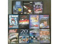 Motorsport DVD bundle