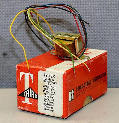 Triad Utrad Ty-48x Class B Transistor Transformer New