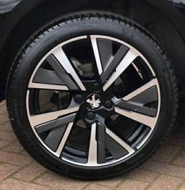 "4x Brand New 17"" Diamond Cut Two-Tone Alloy Wheels"