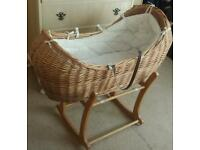Moses basket with stand need go asap