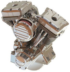Ultima® Natural 120 c.i.  El Bruto® Motor for 1984-99 Harleys