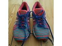 For sale is a pair of the Asics Gel-Kinsey 5 ladies trainers.