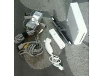 Nintendo wii console complete setup