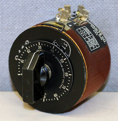 Staco Energy Products Co. 221 Variable Transformer Variac