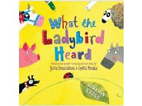 4 x Stalls tickets for What The Ladybird Heard Lowry Sunday 26th August 2pm