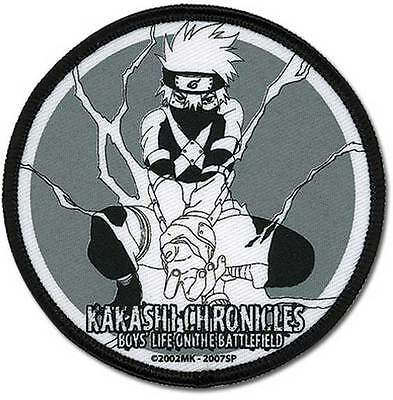 """Naruto Shippuden Anime KAKSHI CHRONICLES PATCH 3"""" Licensed by GE Animation"""