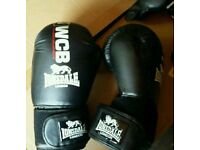 Brand New Lonsdale WCB 14oz Boxing Gloves