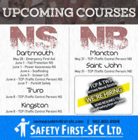 Traffic Control Person (TCP) NS Course - KINGSTON