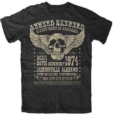 New Lynyrd Skynyrd Alabama 74 Concert Poster Shirt  Sml 2Xl  Badhabitmerch