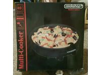 Cookshop Multi-Cooker - Never Used