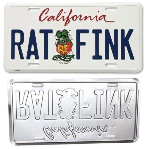 Rat Fink California License Plate