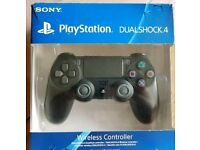 PS4 Dualshock 4 Black Controller