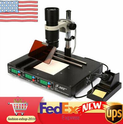 T862 Irda Welder Infrared Smt Smd Bga Infrared Heating Rework Station Welder