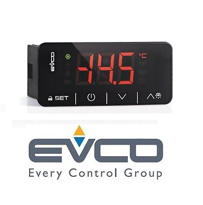 Evco Ev3x21n7 Touch Medium Temperature Refrigeration Controller  Energy Saving