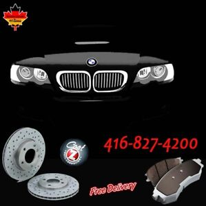 BRAKE SETS for BMW - ANY YEAR - ANY MODEL - GERMAN MADE PARTS