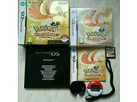 Pokemon heartgold version very rare big box +pokewalker