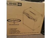 line 6 spider 2 amplifier with pedal