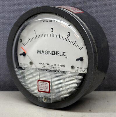 Dwyer Instruments 2004c Magnehelic Differential Pressure Gauge Gage